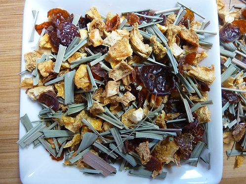 Refreshing Sip Herbal Tea