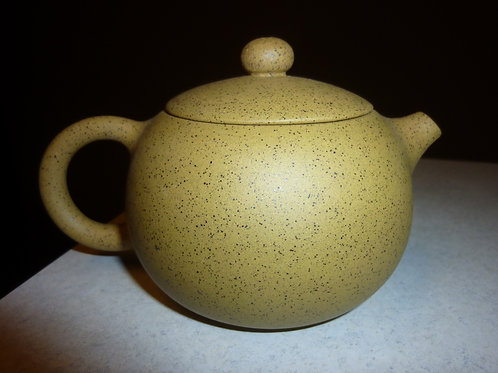 Clay Teapot Golden Sand