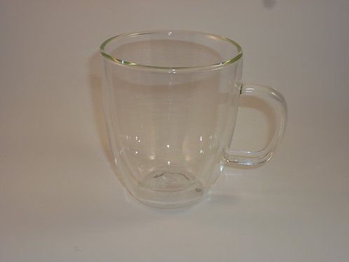 Double Wall Glass Cup 12.7fl o/375ml