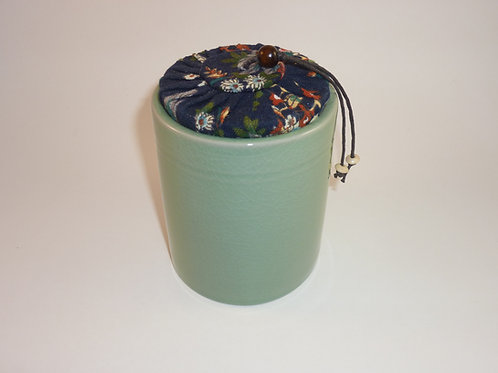 Porcelain Tea Tin