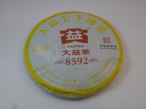 8592 Menghai Dayi Ripe Pu-erh Tea Cake