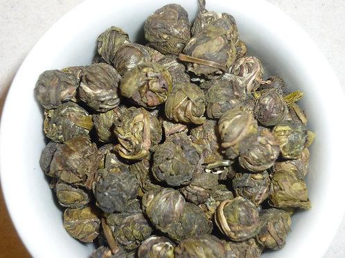 Hand Roll Jasmine Dragon Pearl Green Tea