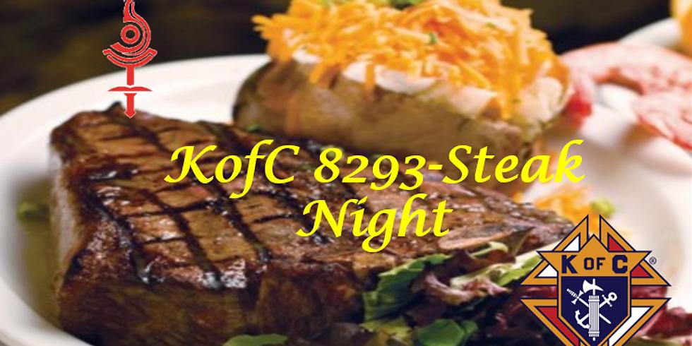 KofC 8293 - Steak Knight!