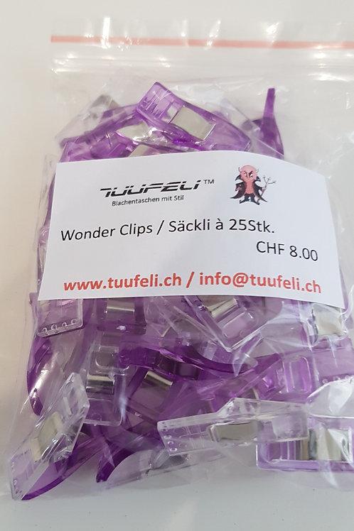 Wonderclips violett