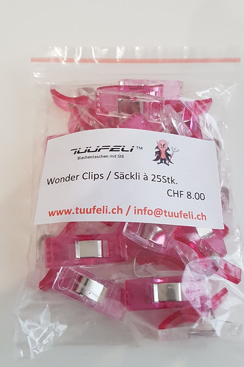 Wonderclips pink