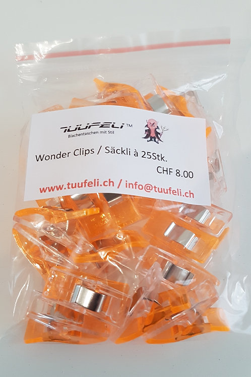 Wonderclips orange