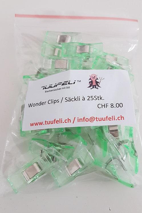 Wonderclips grün