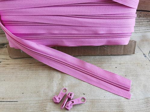 Reissverschluss 6mm pink