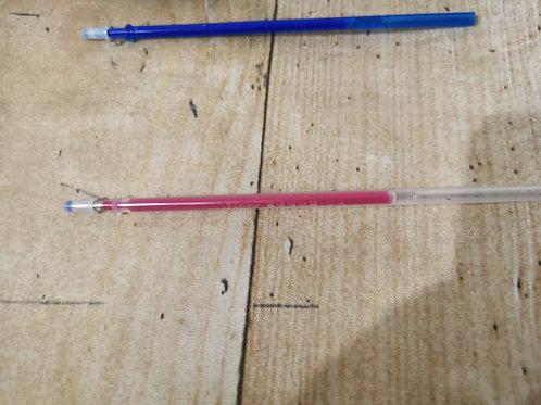 Stoffmarkierstift Nachfüllmiene pink (löschbar mit Bügeleisen)