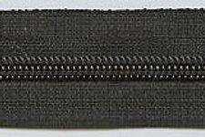 Reissverschluss Welti Spirale 4mm, schwarz / Preis pro Meter