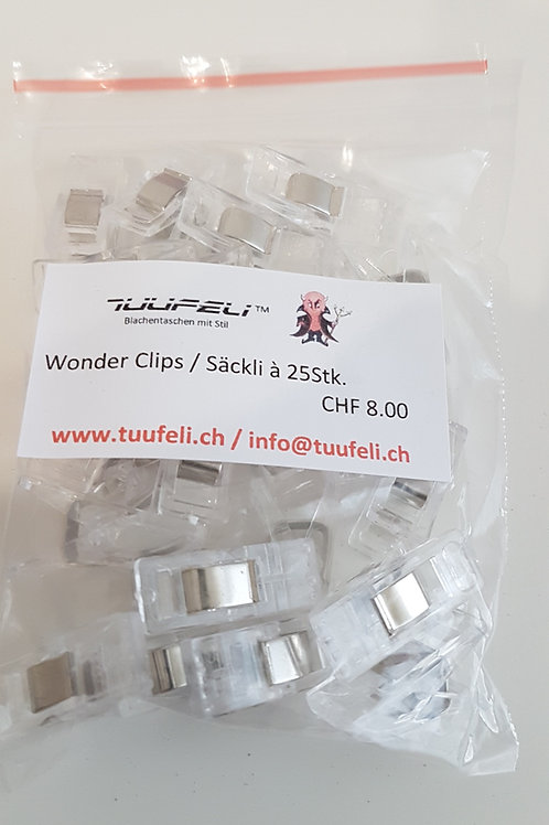 Wonderclips transparent