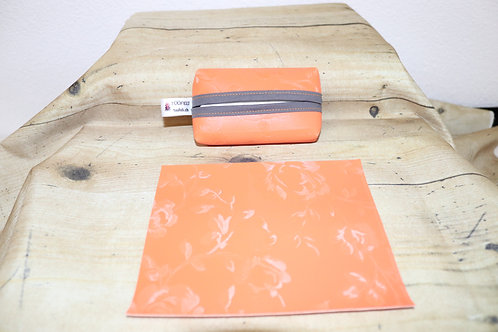 """Tatüta"" orange/grau"