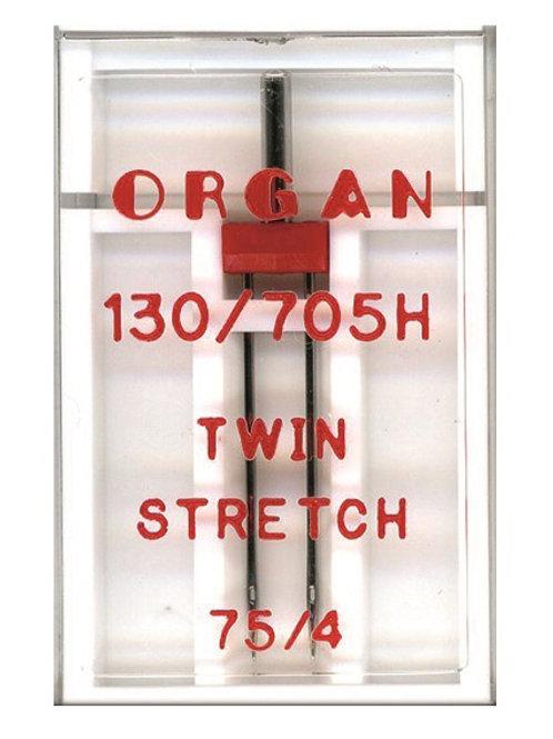 ORGAN STRETCH-ZWILLINGSNADEL STÄRKE 75/ 4,0 MM