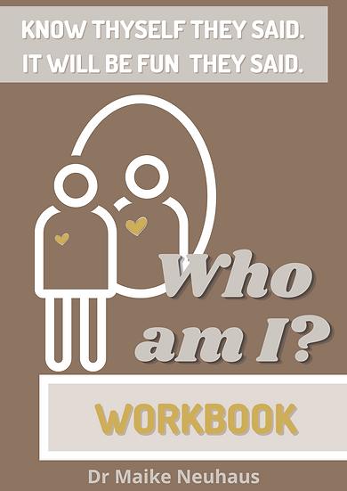 Workbook 'Who am I?'