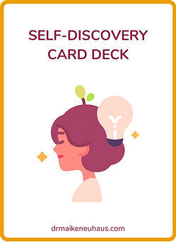 Self-discovery card deck
