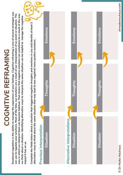 Cognitive Reframing Tool