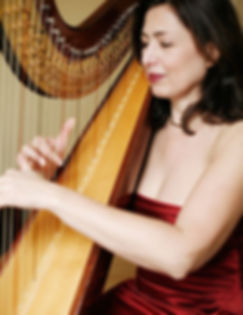 Santa Barbara Harpist Valerie Saint Martin