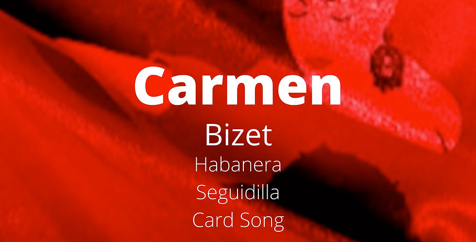 Bizet - Carmen Arias