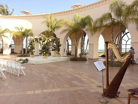 Santa Barbara Hilton Beach Resort Wedding Ceremony
