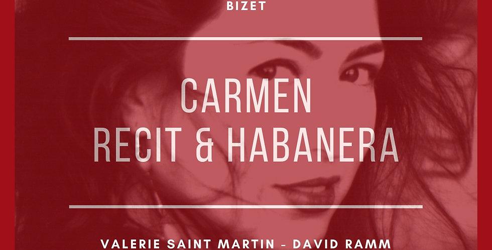 Carmen, WD31, Act I: Recit - Habanera