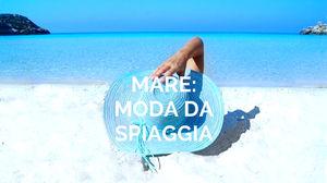 save off 94510 2cd37 MARE: MODA DA SPIAGGIA