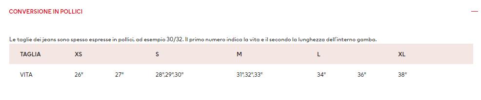 CHE-SIA-BENEDETTA-LA-MODA-CONVERSIONE-IN-POLLICI-MISURE-HM-UOMO
