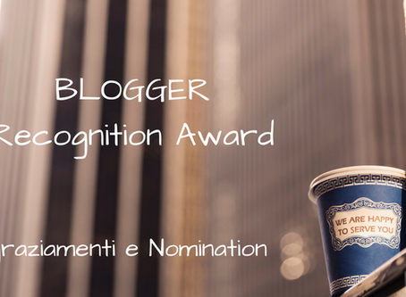 BRA - Blogger Recognition Award 2017