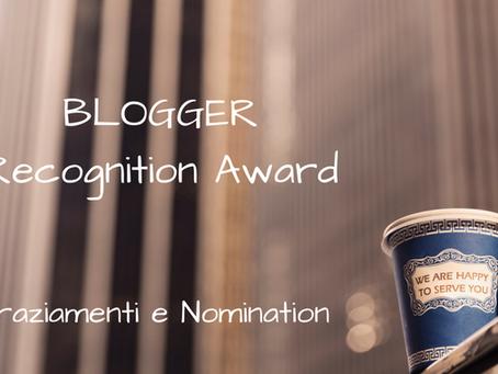 BRA - Blogger Recognition Award 2017