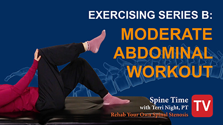 Moderate Abdominal Exercise Stenosis