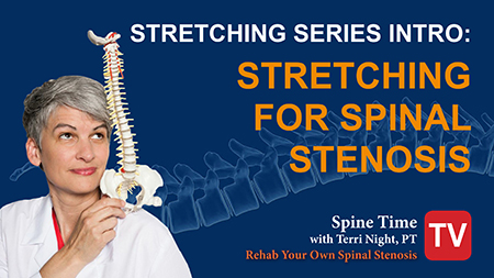Learning how to stretch for stenosis