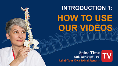 Intro to Rehab Spinal Stenosis