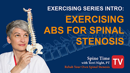 Exercising Intro rehab spinal stenosis