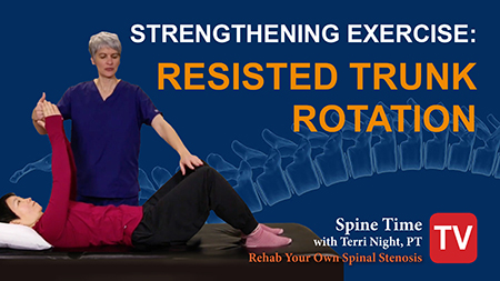 Strength Exercise Spinal Stenosis