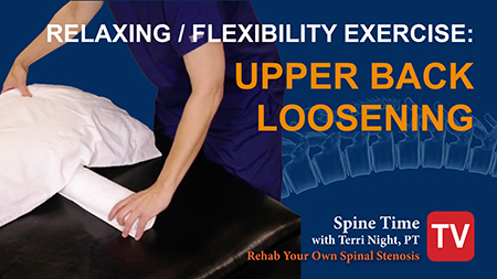 Relaxing Exercise Spinal Stenosis