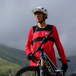 Marco guarda con speranza al futuro....deli percorsi bike in montagna