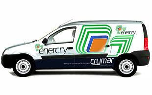 Diseño de Identidad Corporativa de empresa de eficiencia energética