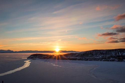 """""""Hut Point Sunset"""""""