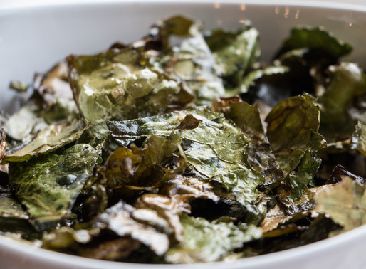 Light & Crispy Kale Chips