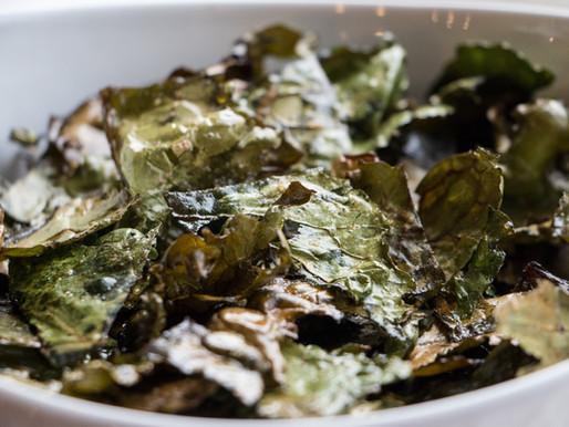 Light & Crispy Kale Chips