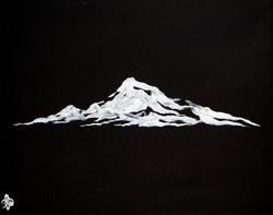 Black & White Rockies