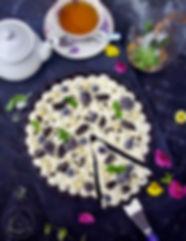Oreo tart sa malinama i bijelom čokolado