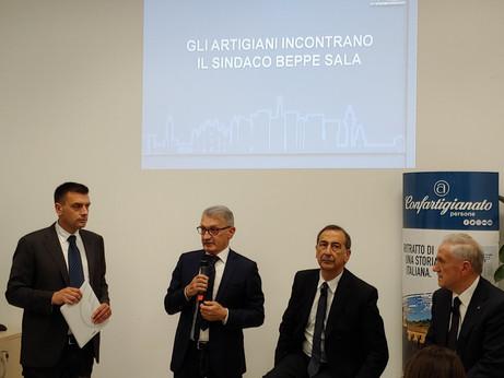 NUOVA SEDE DI MILANO – Inaugurata oggi alla presenza del Sindaco Beppe Sala la nuova sede Confartigi