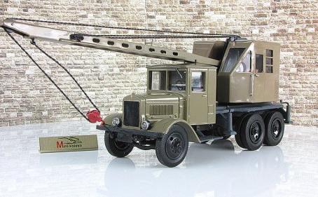 Первый советский автокран!С чего все начиналось...