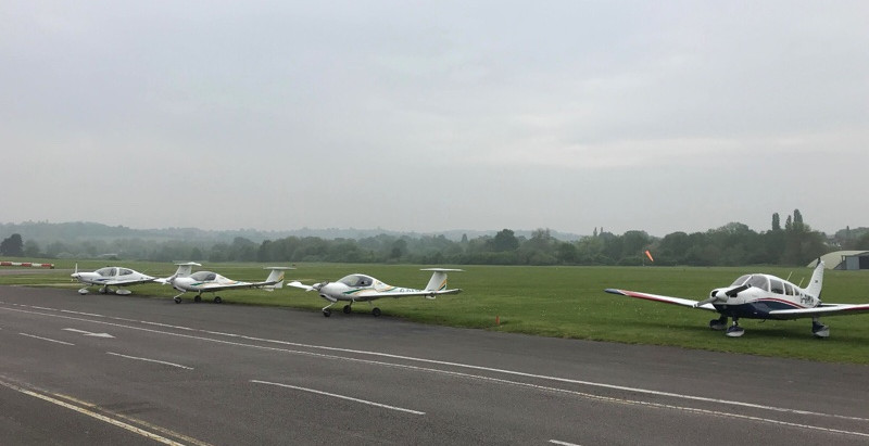 Beyond the aerodrome