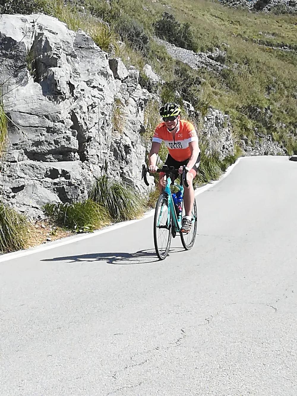 Malcom, New Malden Velo, Mallorca Cycle tour