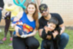 ג'ני קשת ומשפחתה