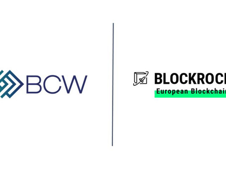 BCW Group accelerates blockchain as BLOCKROCKET member