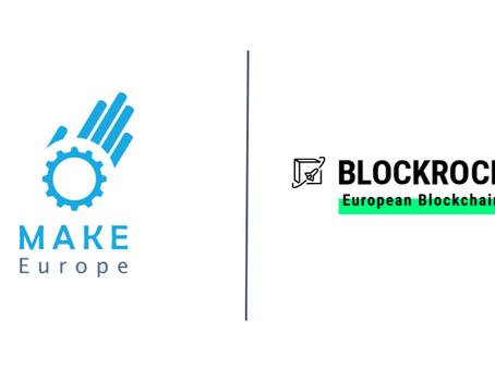 MAKE Europe accelerates blockchain as BLOCKROCKET member