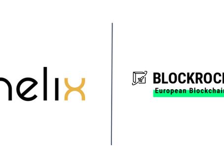 Helix accelerates blockchain as BLOCKROCKET member