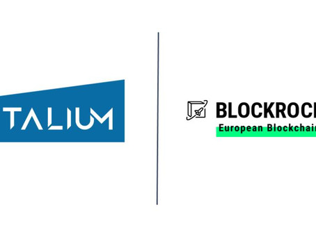 Talium accelerates blockchain as BLOCKROCKET member